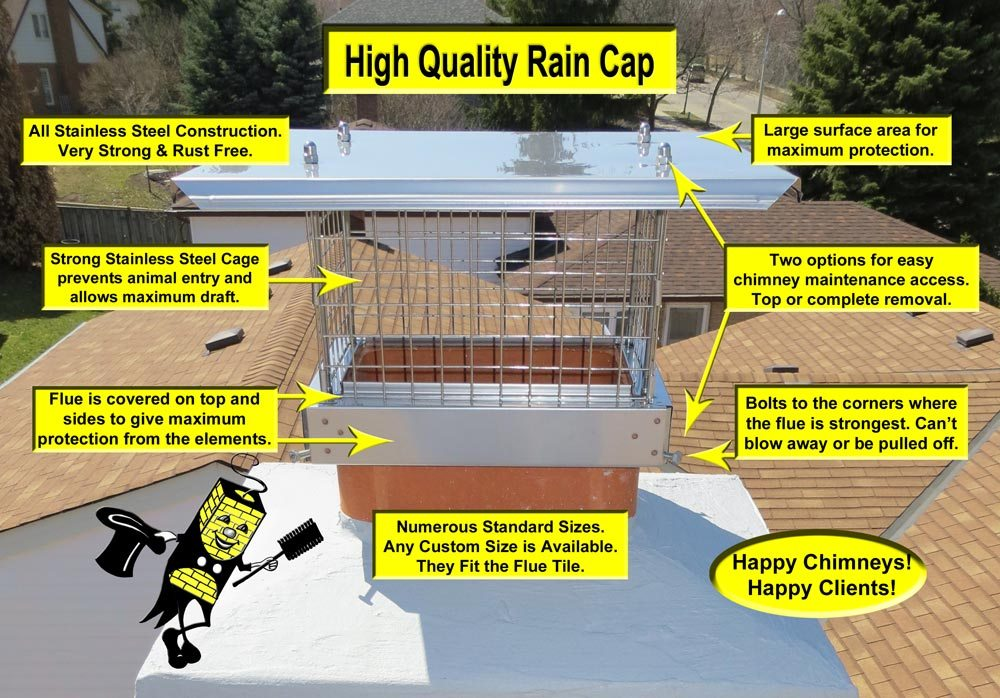 High Quality Rain Cap for Chimneys