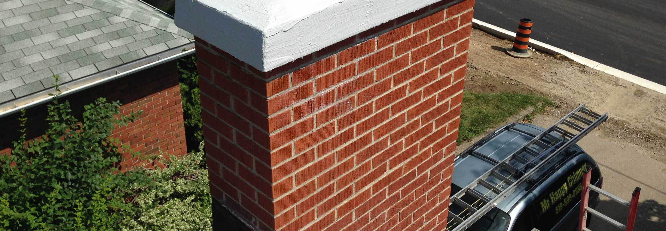 Making your chimney happy from top to bottom